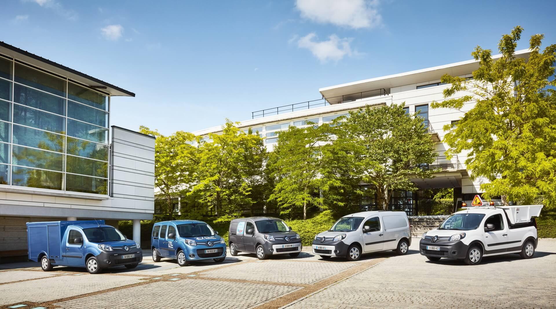 Коммерческие электромобили Renault