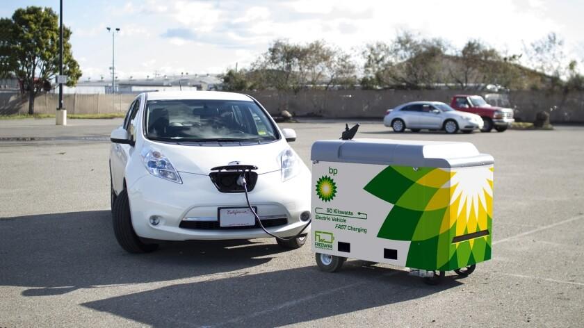 Мобильная зарядка для электромобилей Mobi