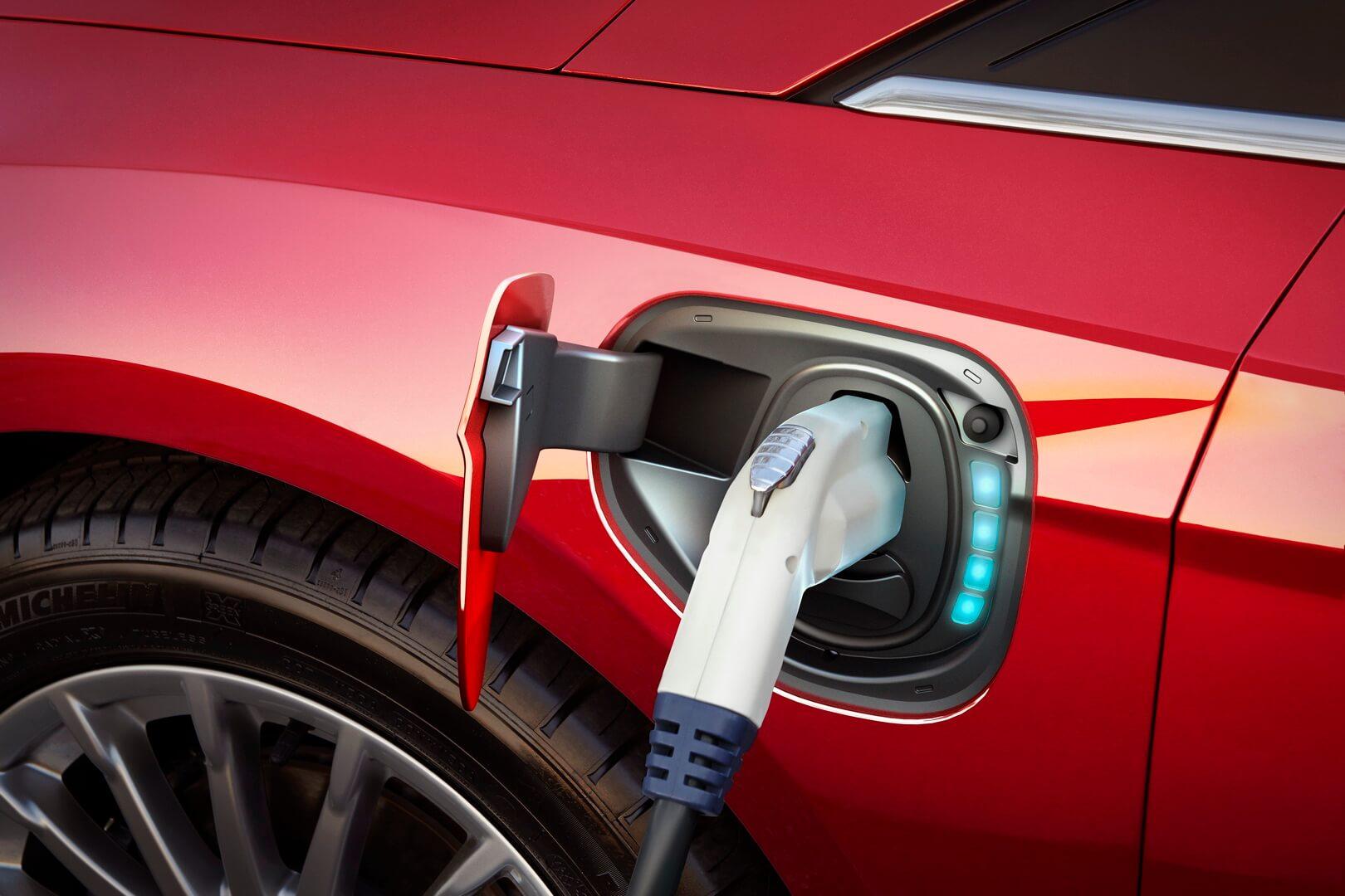 Зарядный порт Ford Focus Electric