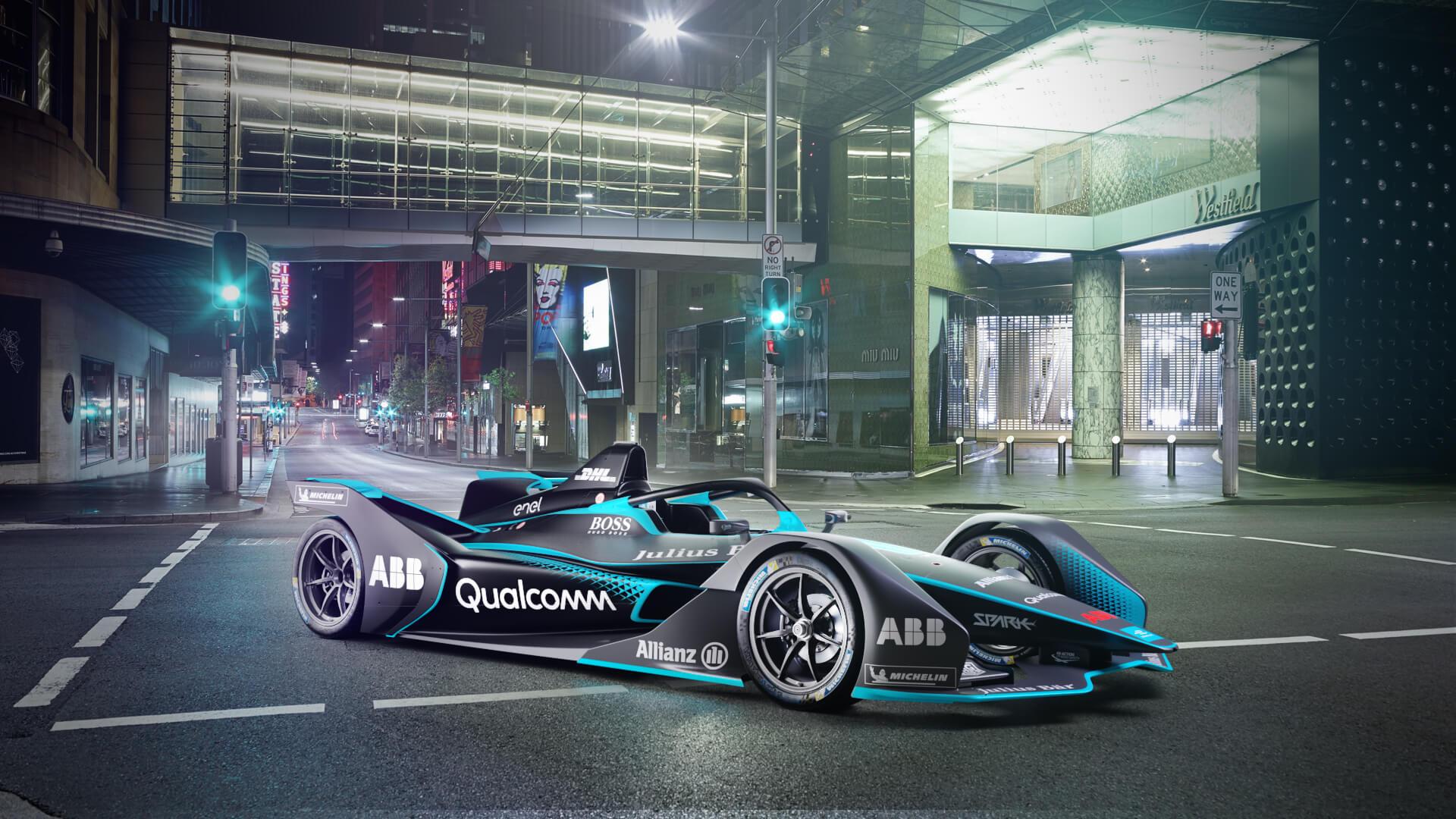 Второе поколение гоночного болида Formula E