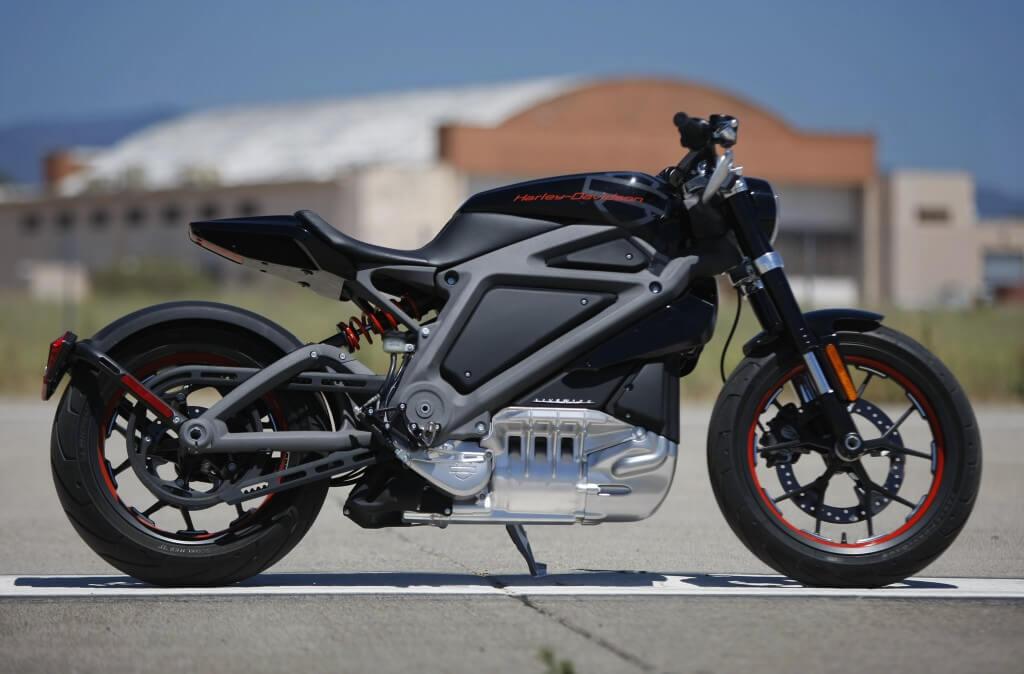 Концепт электрического мотоцикла Harley-Davidson проекта LiveWire