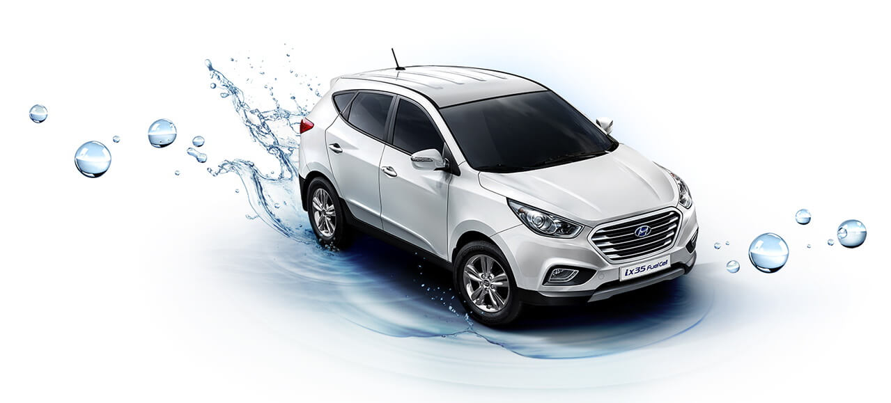 Hyundai Tucson Fuel Cell или Hyundai ix35 FCEV