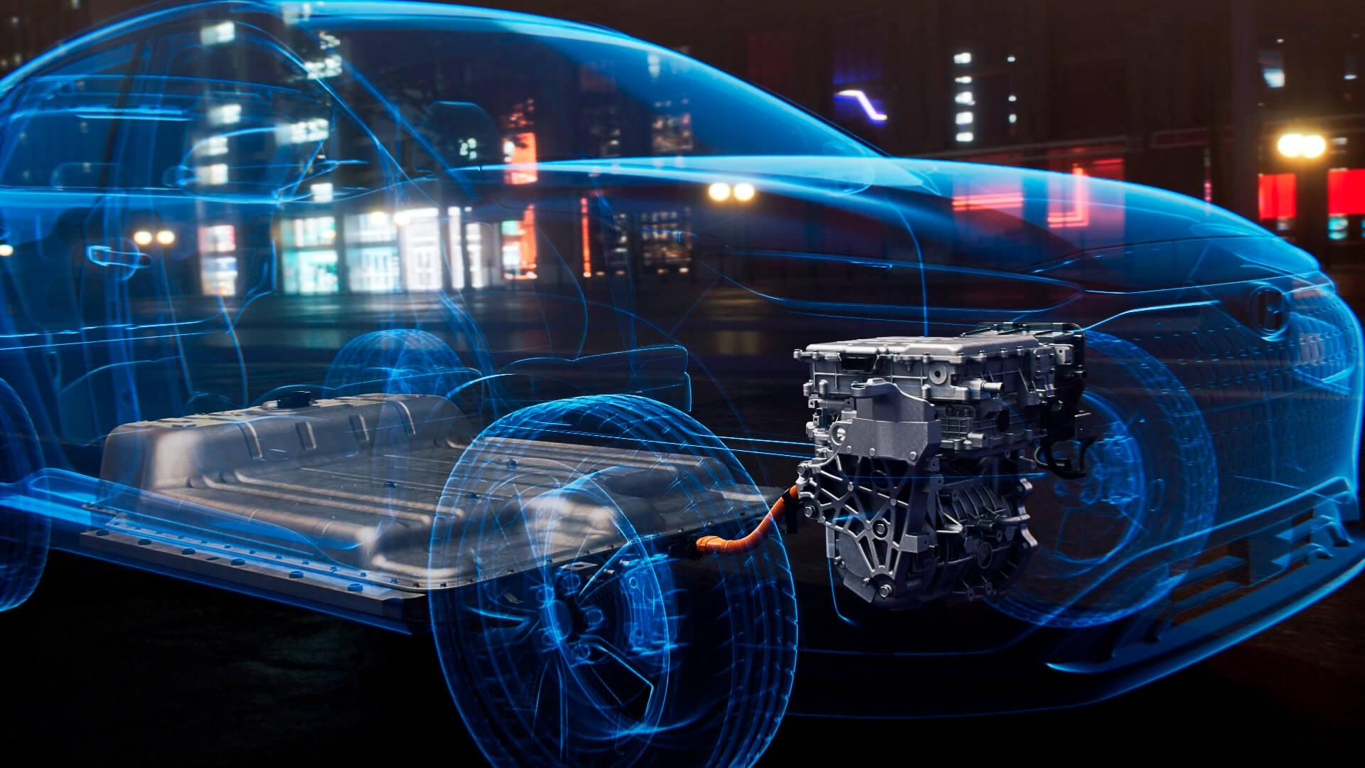 Силовая установка Hyundai Kona Electric