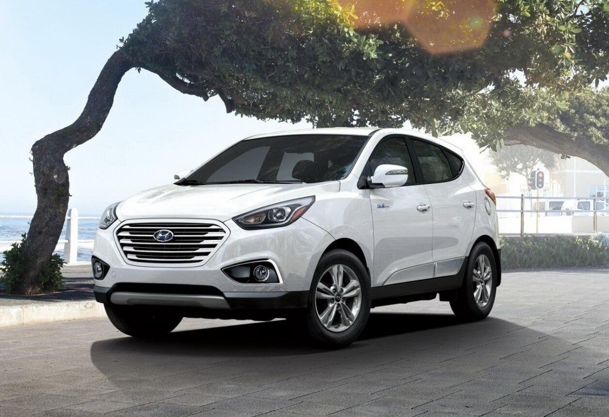 Экстерьер электромобиля на топливных элементах Hyundai Tucson Fuel Cell