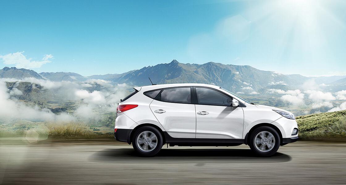 Экстерьер электромобиля на топливных элементах Hyundai ix35 Fuel Cell