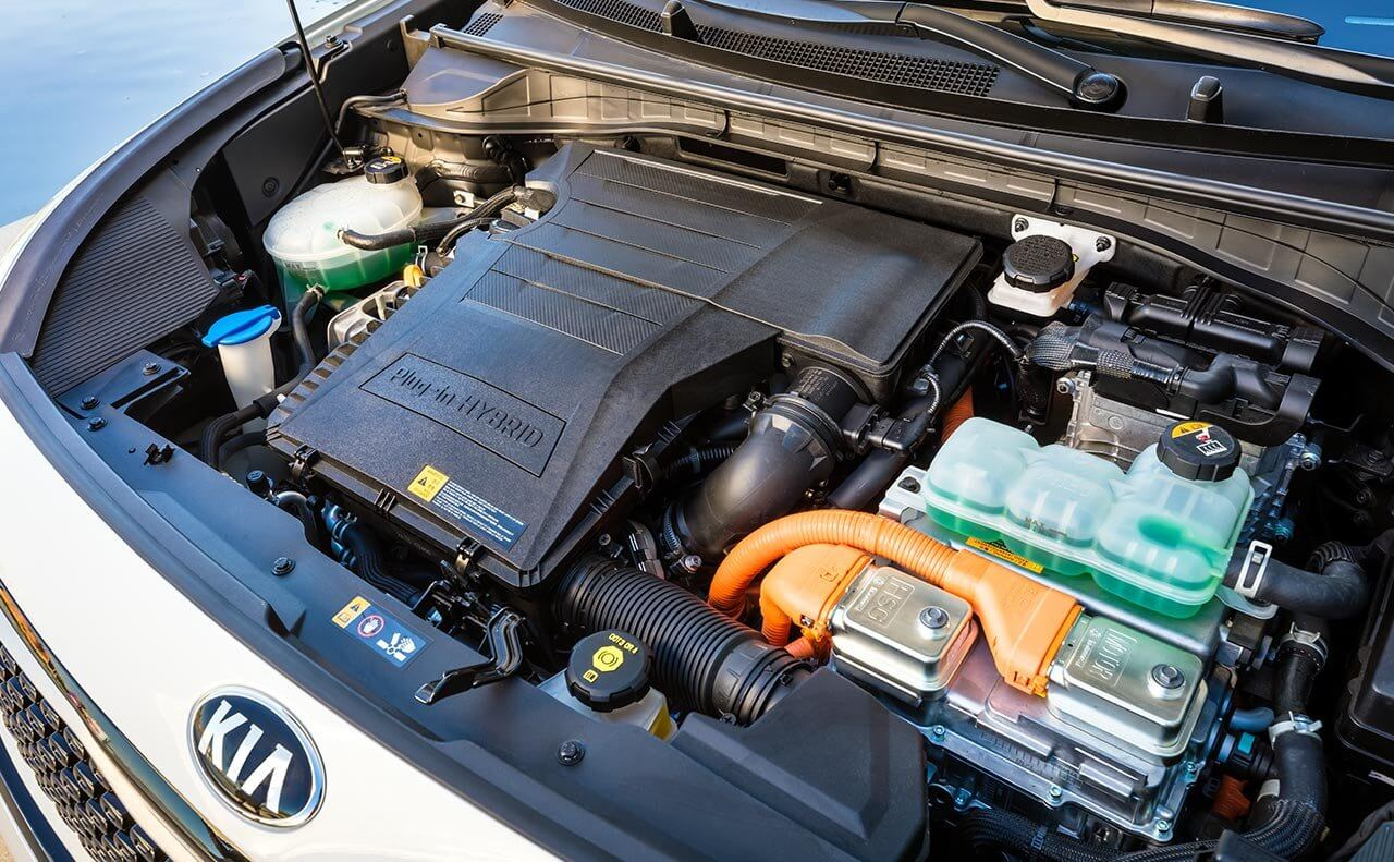 Силовой агрегат Kia Niro Plug-in Hybrid