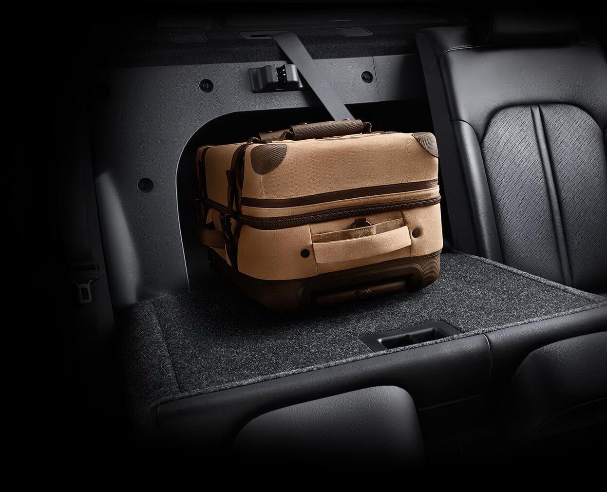 Возможности трансформации сидений Kia Optima Hybrid