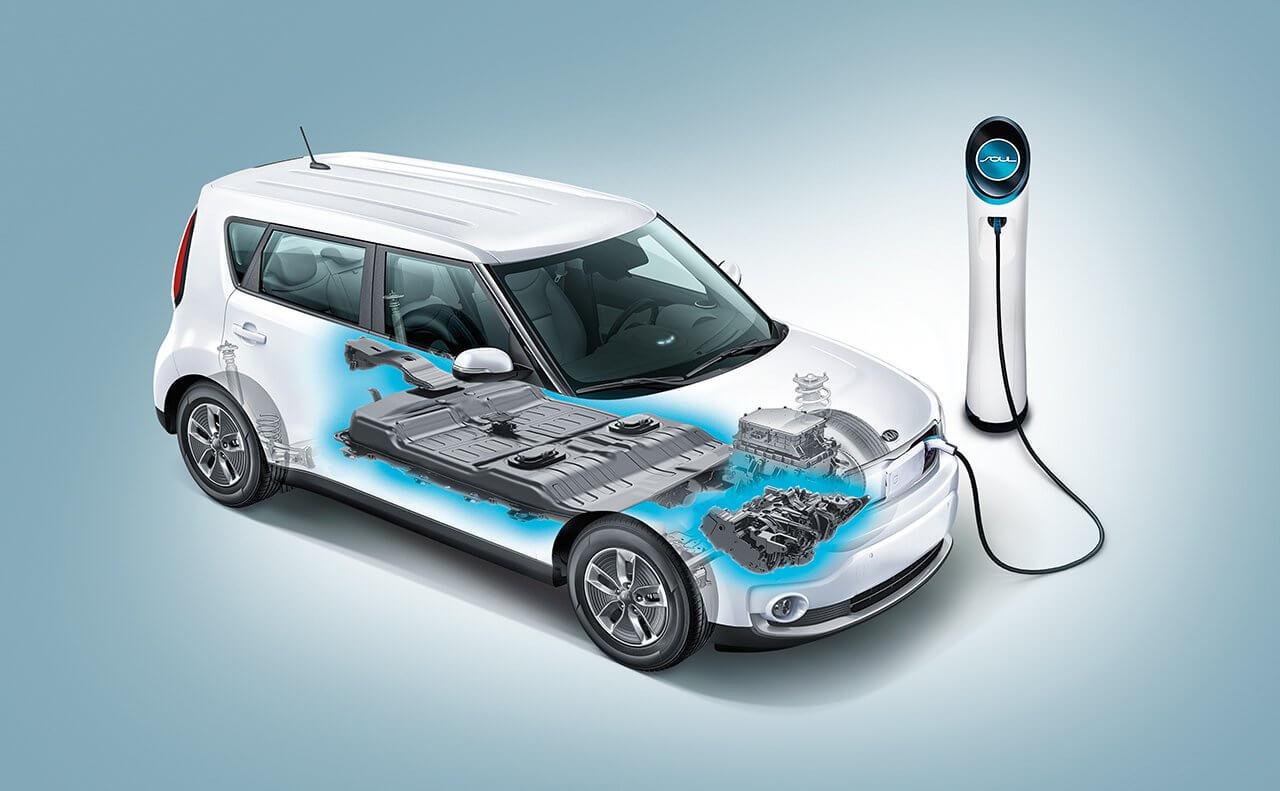 Силовая установка электромобиля Kia Soul EV