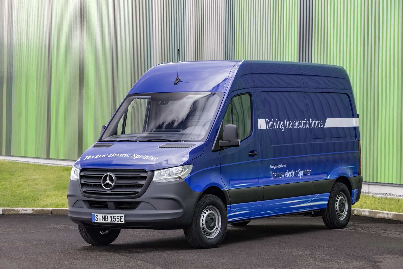 Электрический фургон Mercedes-Benz eSprinter