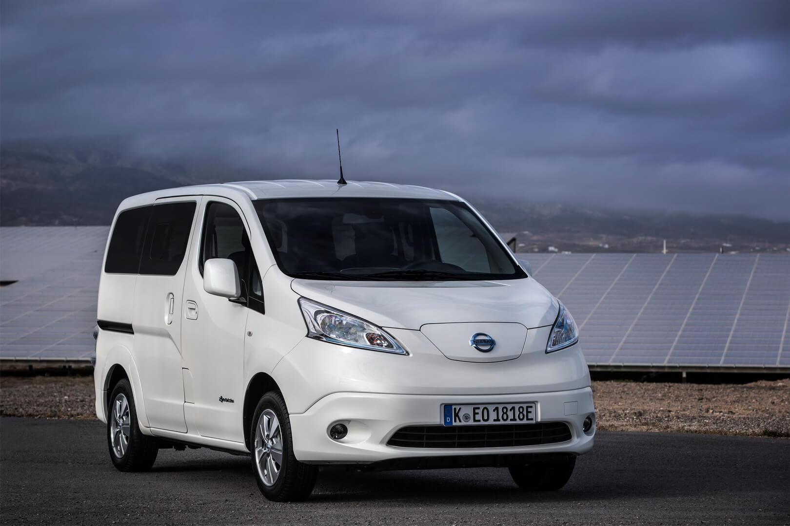 Электрический фургон Nissan e-NV200 с батареей емкостью 40 кВт•ч