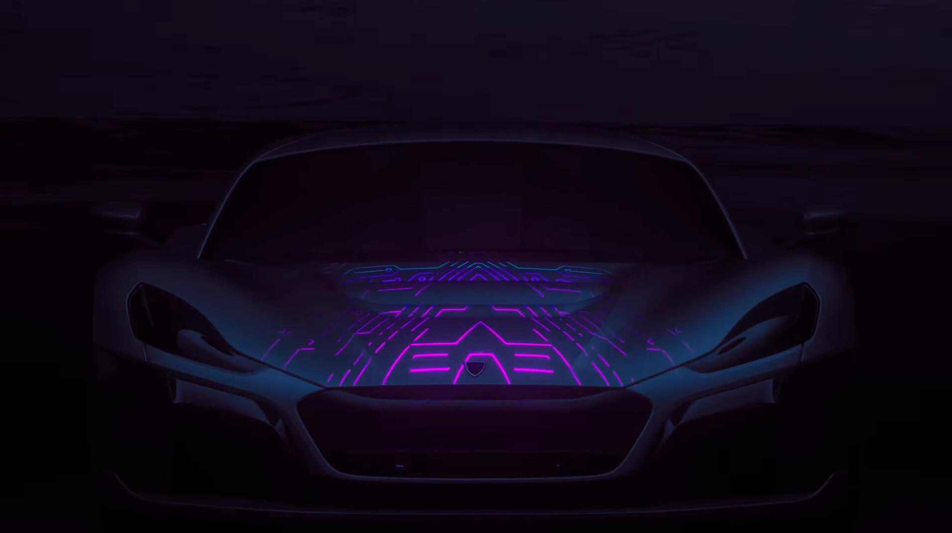 Тизер спорткара Rimac Concept_Two