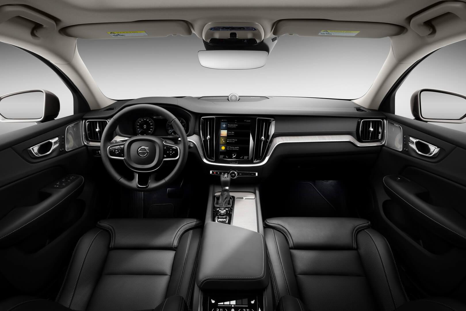 Салон подключаемого гибрида Volvo V60 Twin Engine