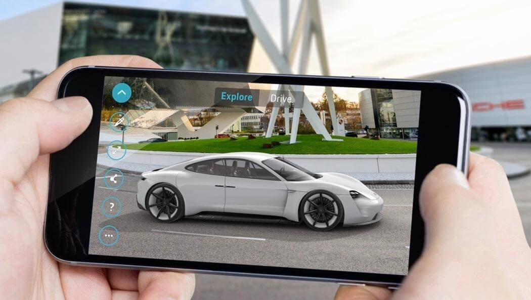 Приложение Mission E Augmented Reality