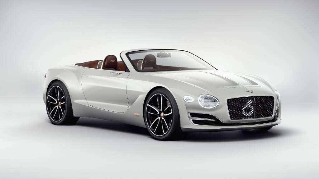 Концепт электрического спортивного автомобиля Bentley EXP12 Speed6e