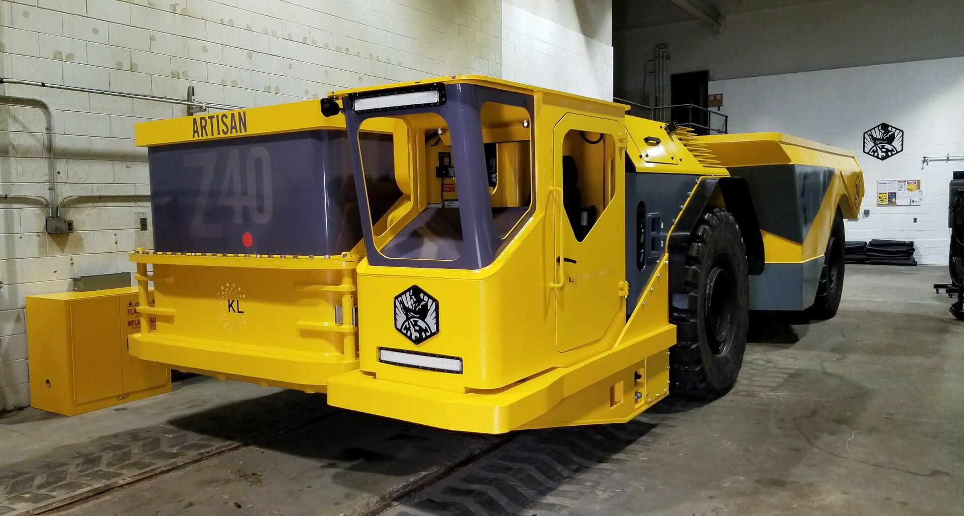 Электрический 40-тонный самосвал Artisan Vehicles