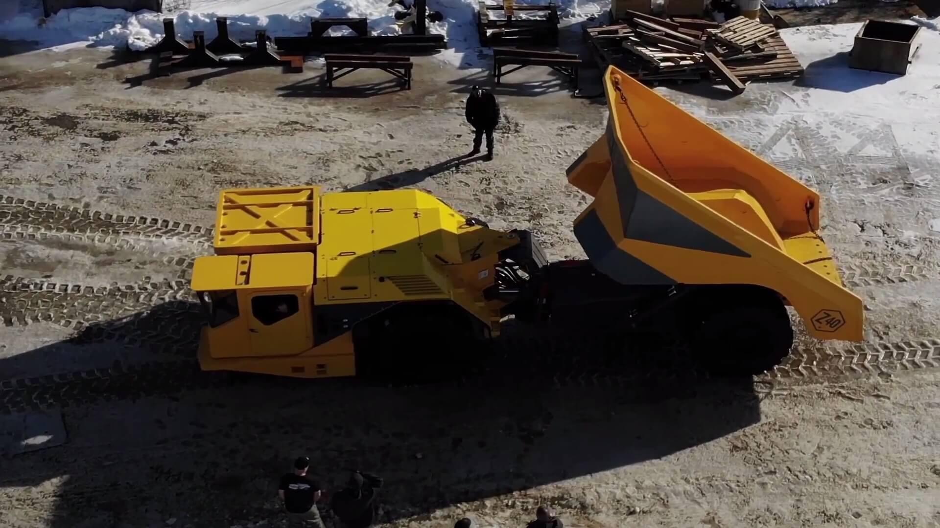 Электрический 40-тонный грузовик Z40