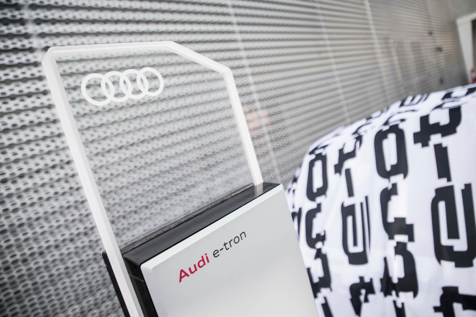 Зарядная станция для Audi e-tron