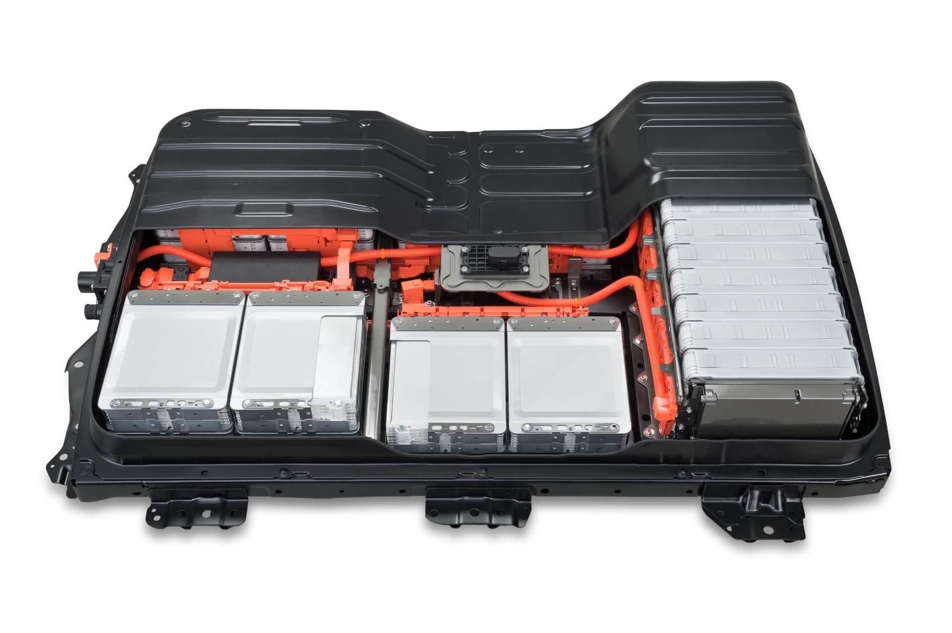 Аккумуляторная батарея Nissan Leaf в разрезе
