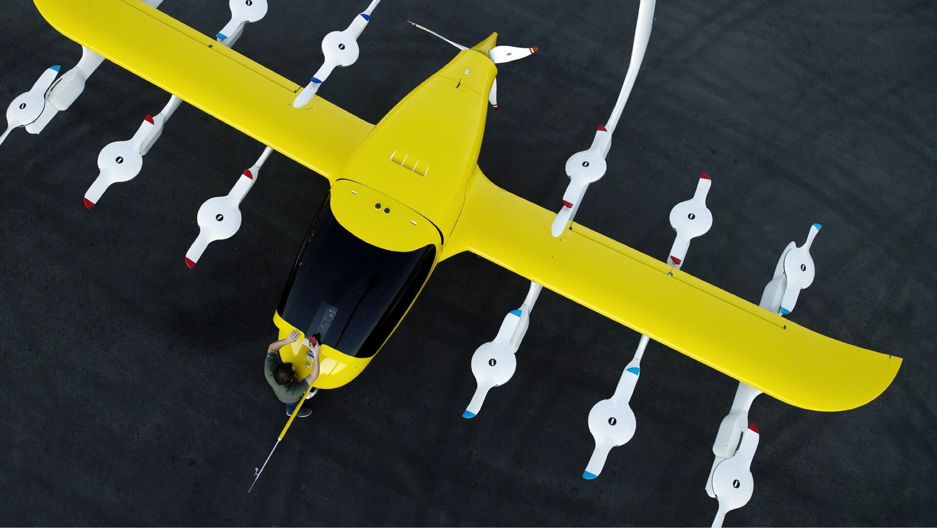 12 подъемных вентиляторов Cora для вертикального взлета и посадки