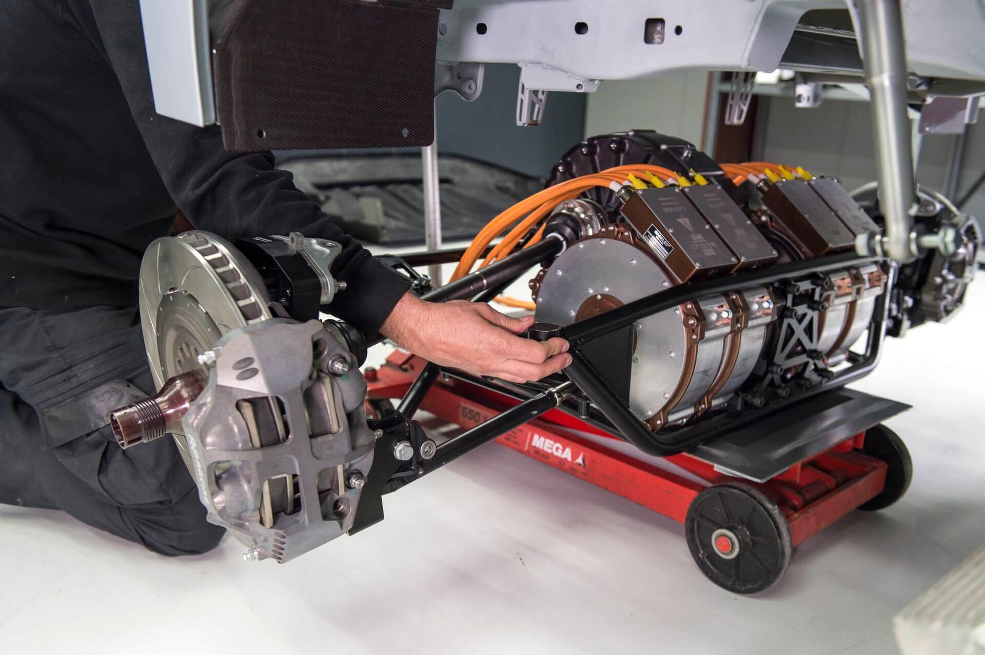 Силовая установка Cupra e-Racer