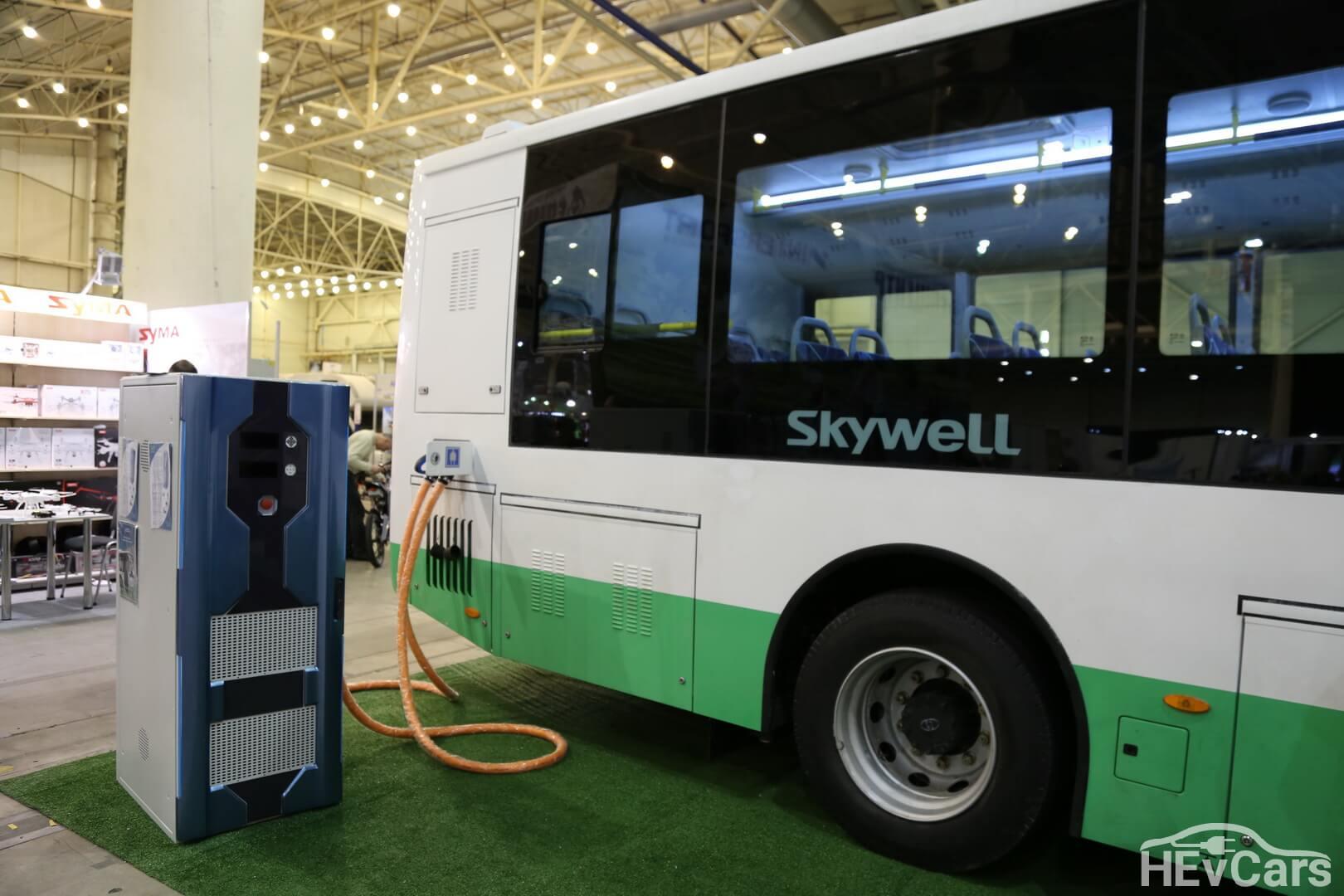 Зарядная станция для электроавтобуса Skywell