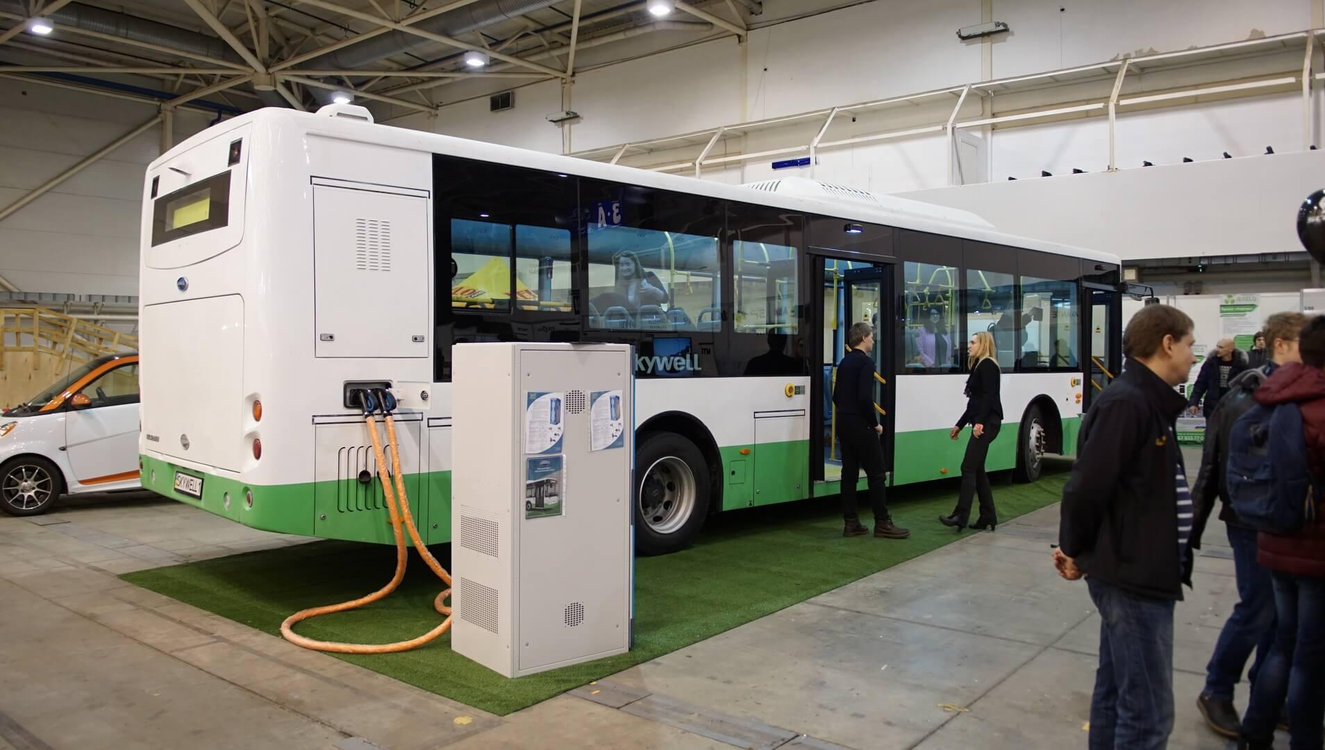 Удлиненная версия китайского электроавтобуса Skywell NJL6129BEV