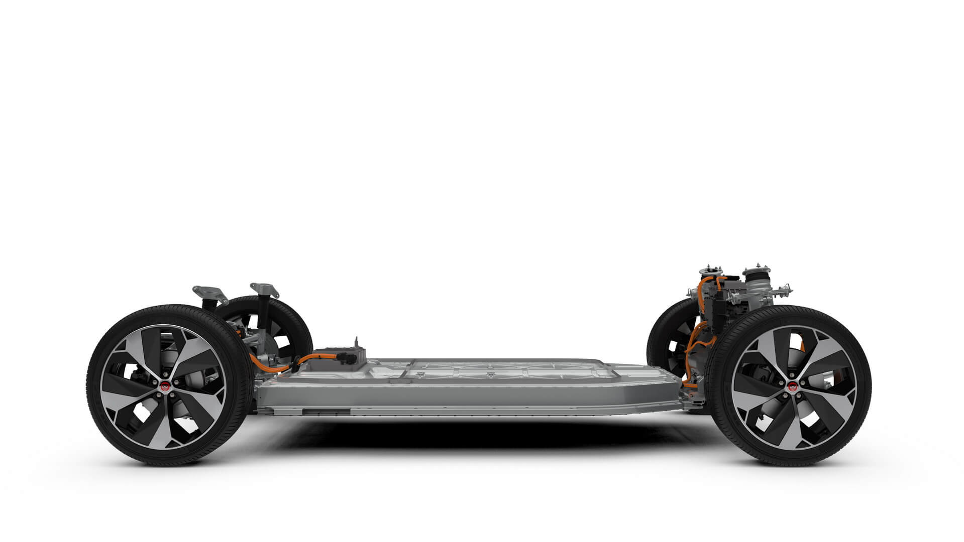 Шасси и силовая установка Jaguar I-Pace