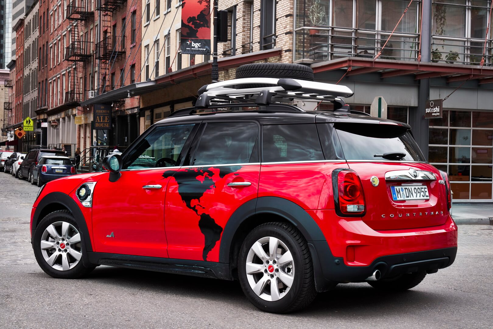 Mini Countryman Panamericana на базе Mini Cooper SE Countryman ALL4