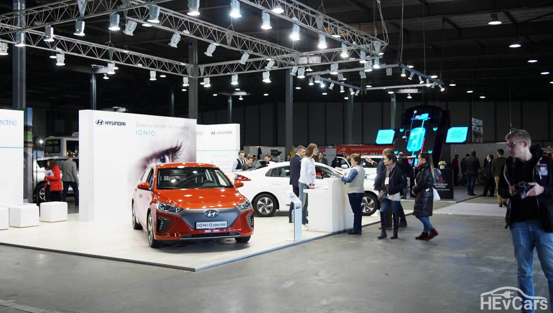 Электрокары Hyundai Ioniq Hybrid и Electric на Plug-In Ukraine 2018