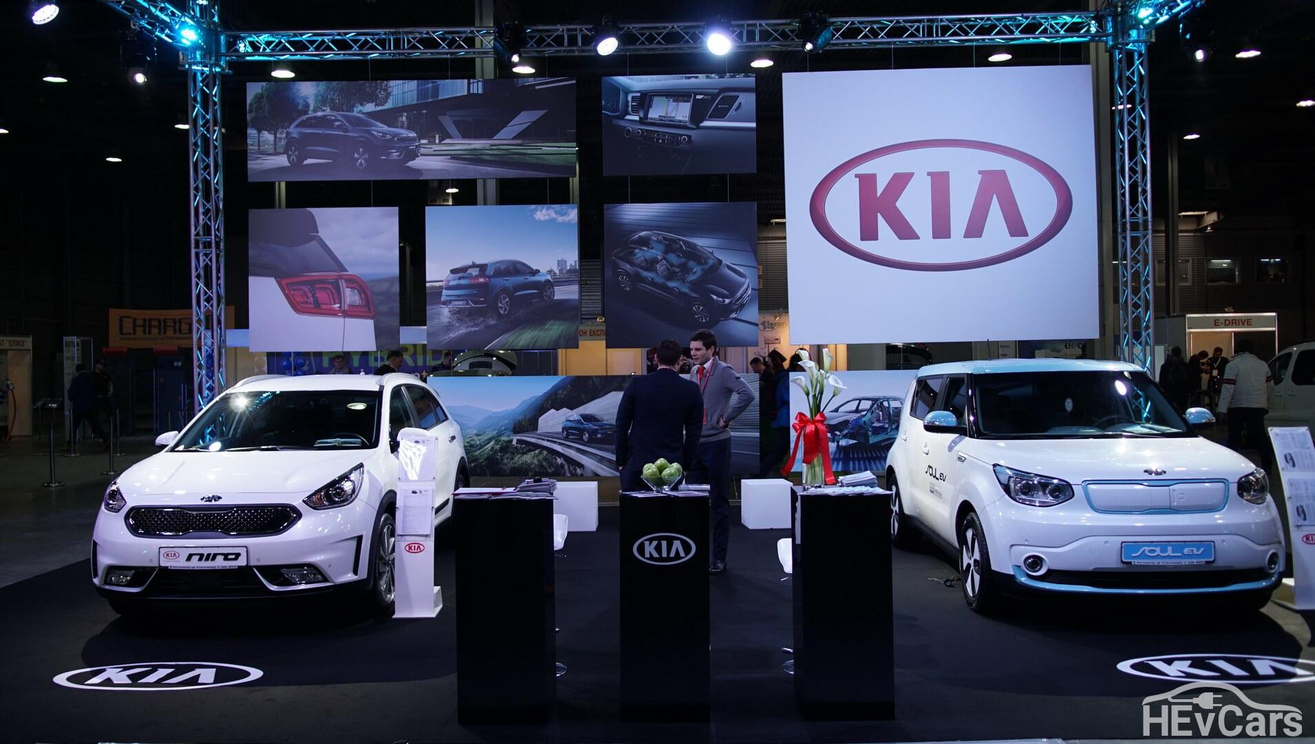 Электрокары KIA Niro и KIA Soul на Plug-In Ukraine 2018