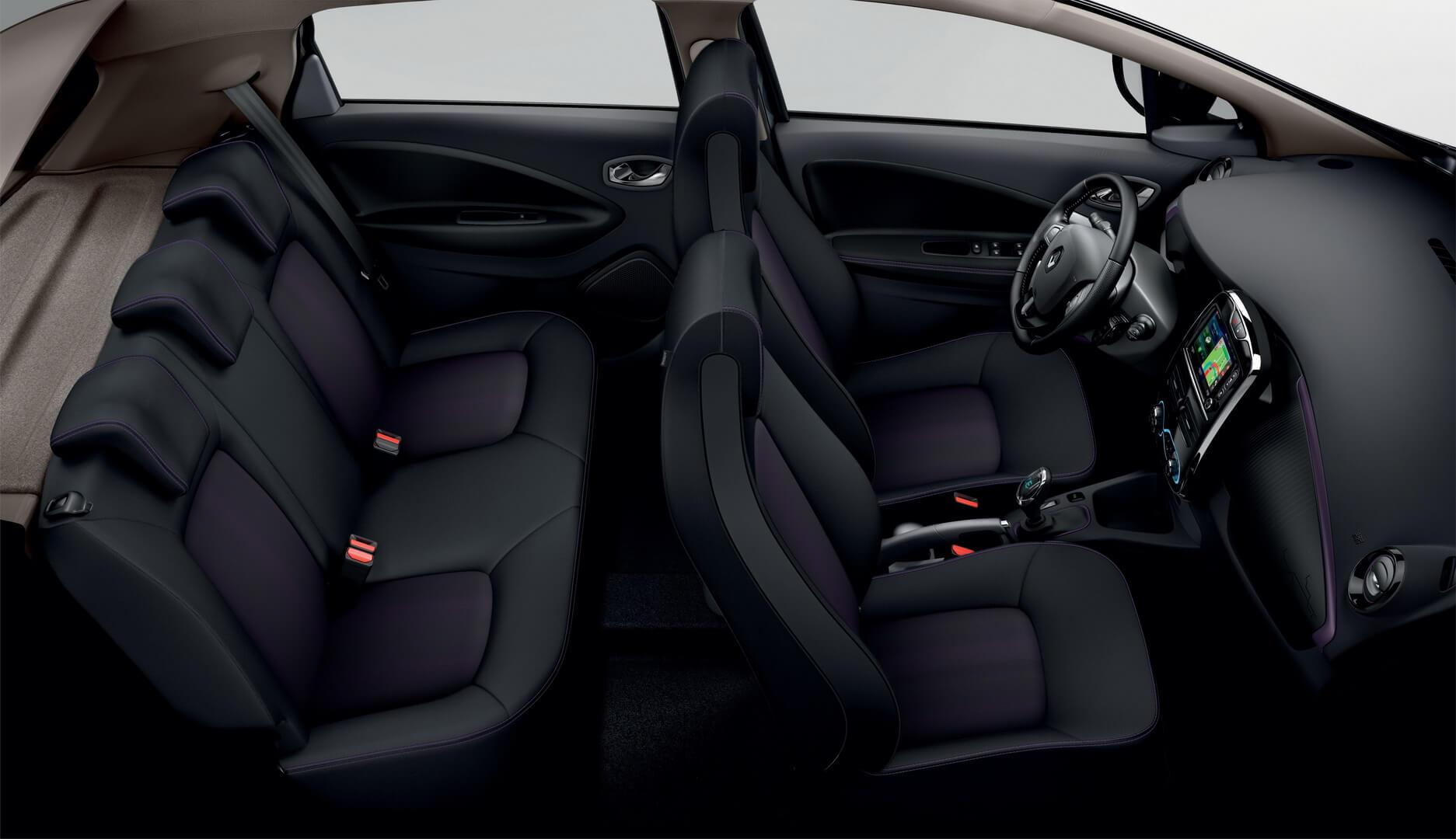 Салон нового Renault ZOE 2018