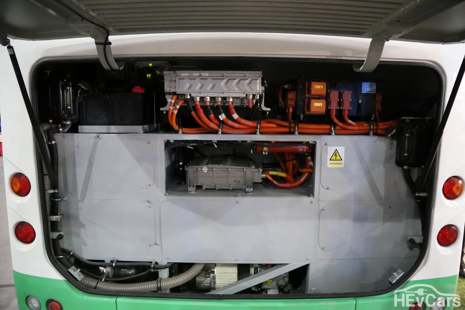 Силовая установка электроавтобуса Skywell NJL6859BEV
