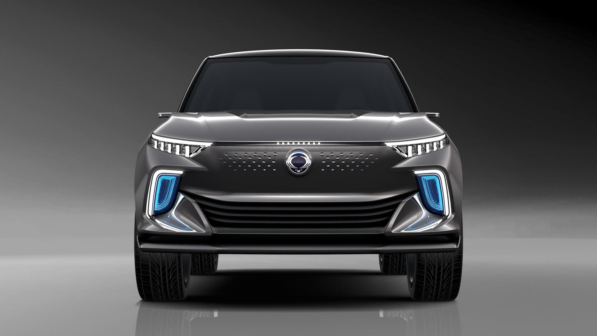 Первый концепт электромобиля SsangYong e-Siv