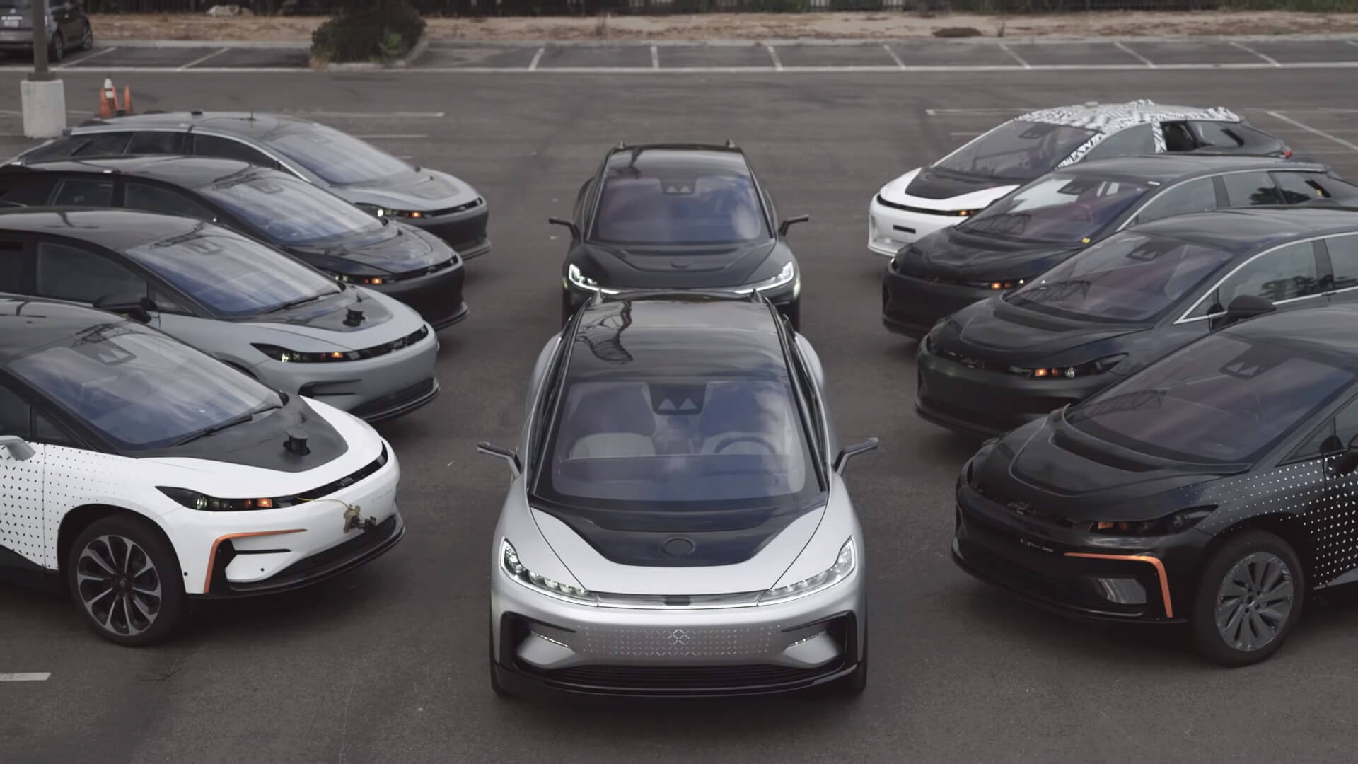 Электромобили Faraday Future 91