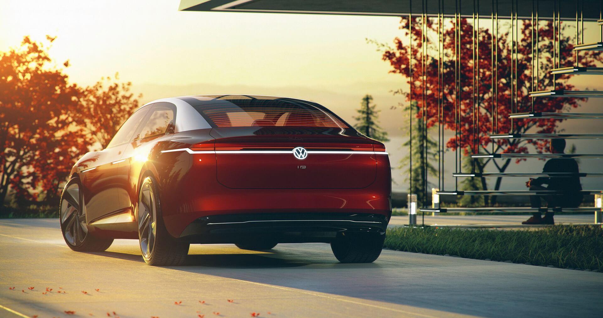 Концепт электромобиля Volkswagen I.D. VIZZION