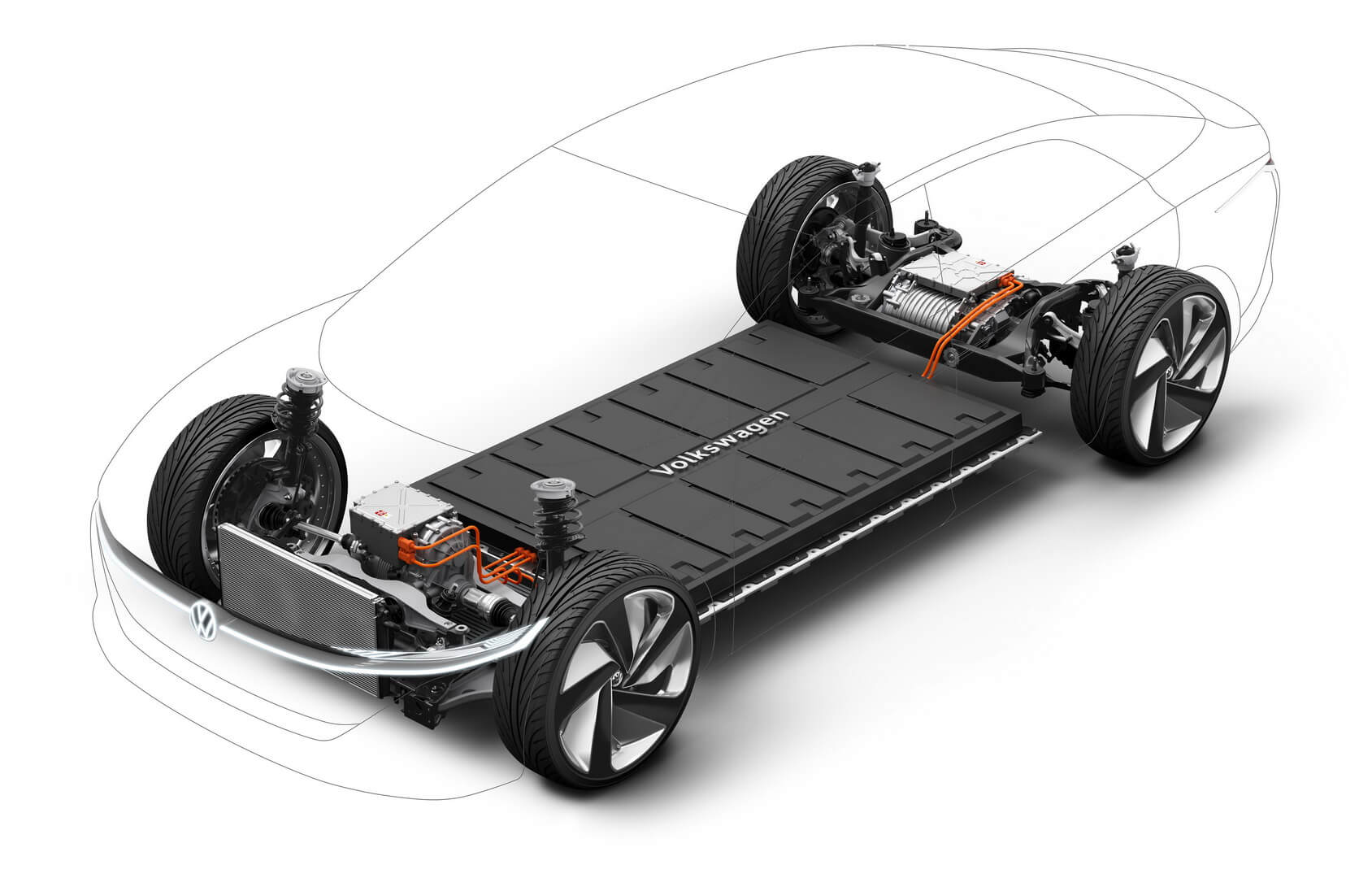 Концепткары серии «ID» от Volkswagen на базе платформы MEB