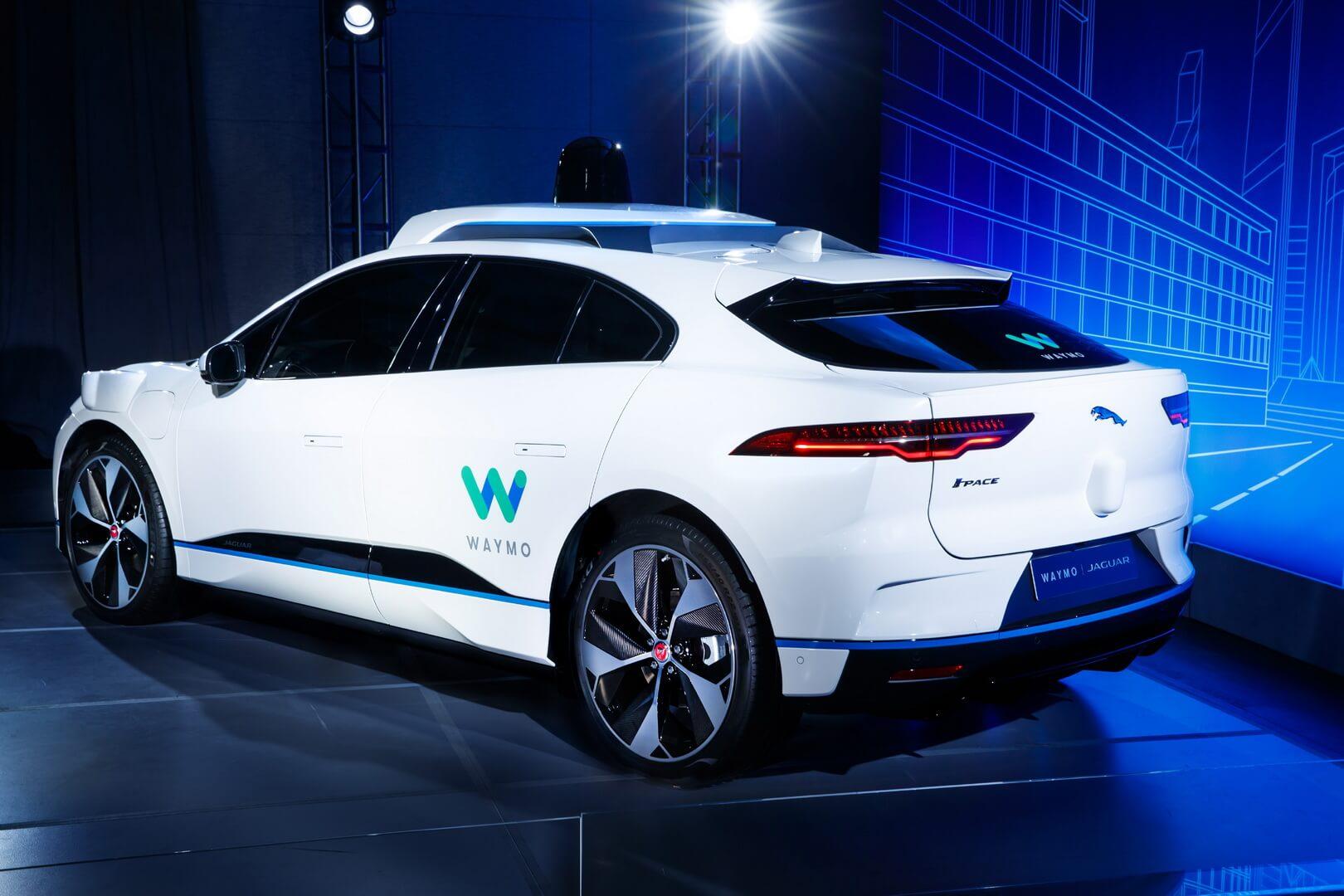 Беспилотный электромобиль Jaguar I-Pace
