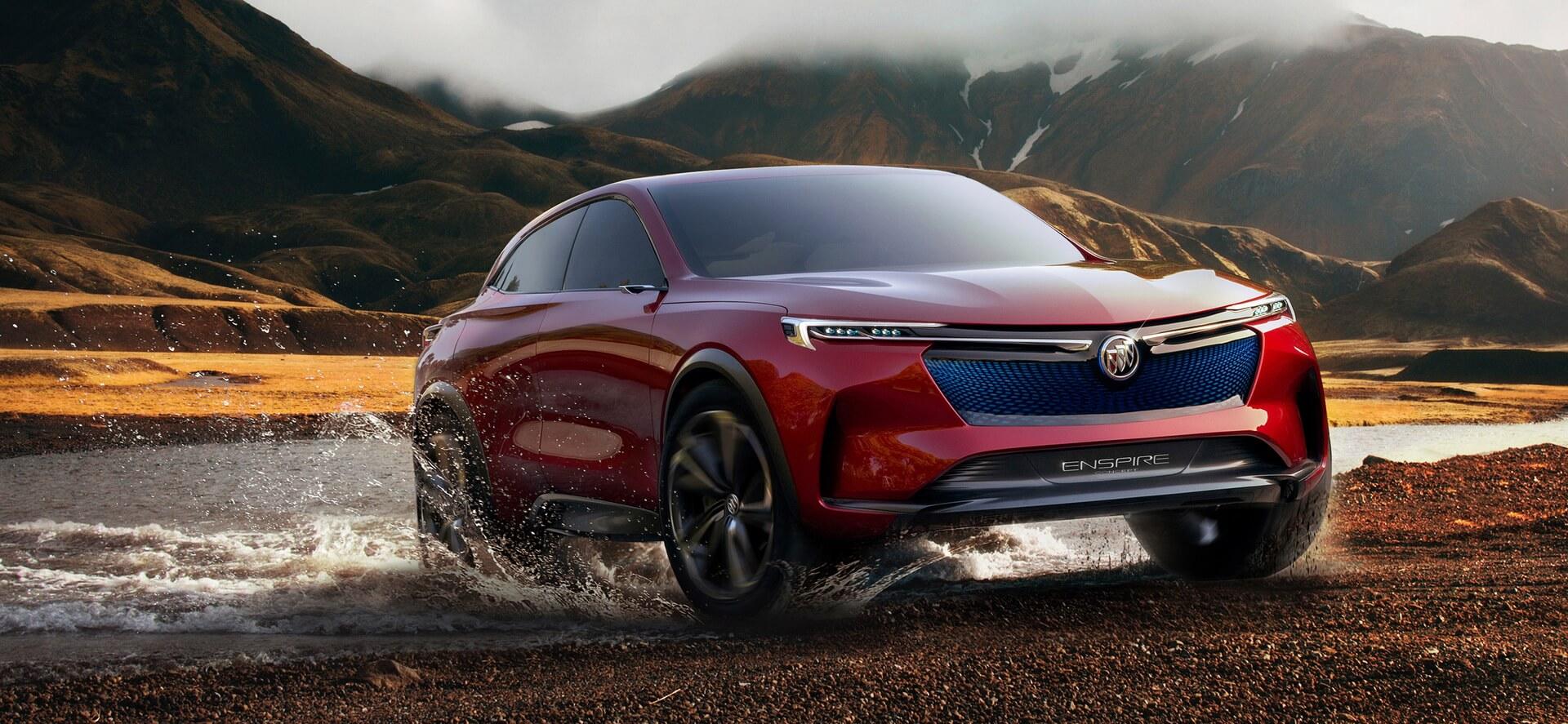 Концепт электрического внедорожника Buick Enspire