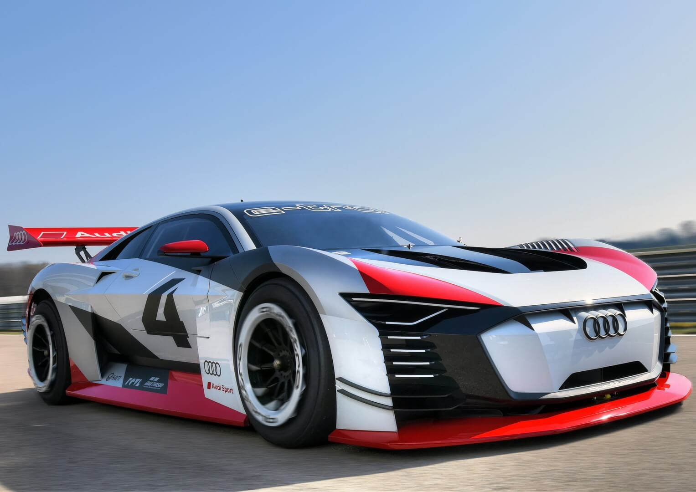 Электрический концепт спорткара Audi e-tron Vision Gran Turismo