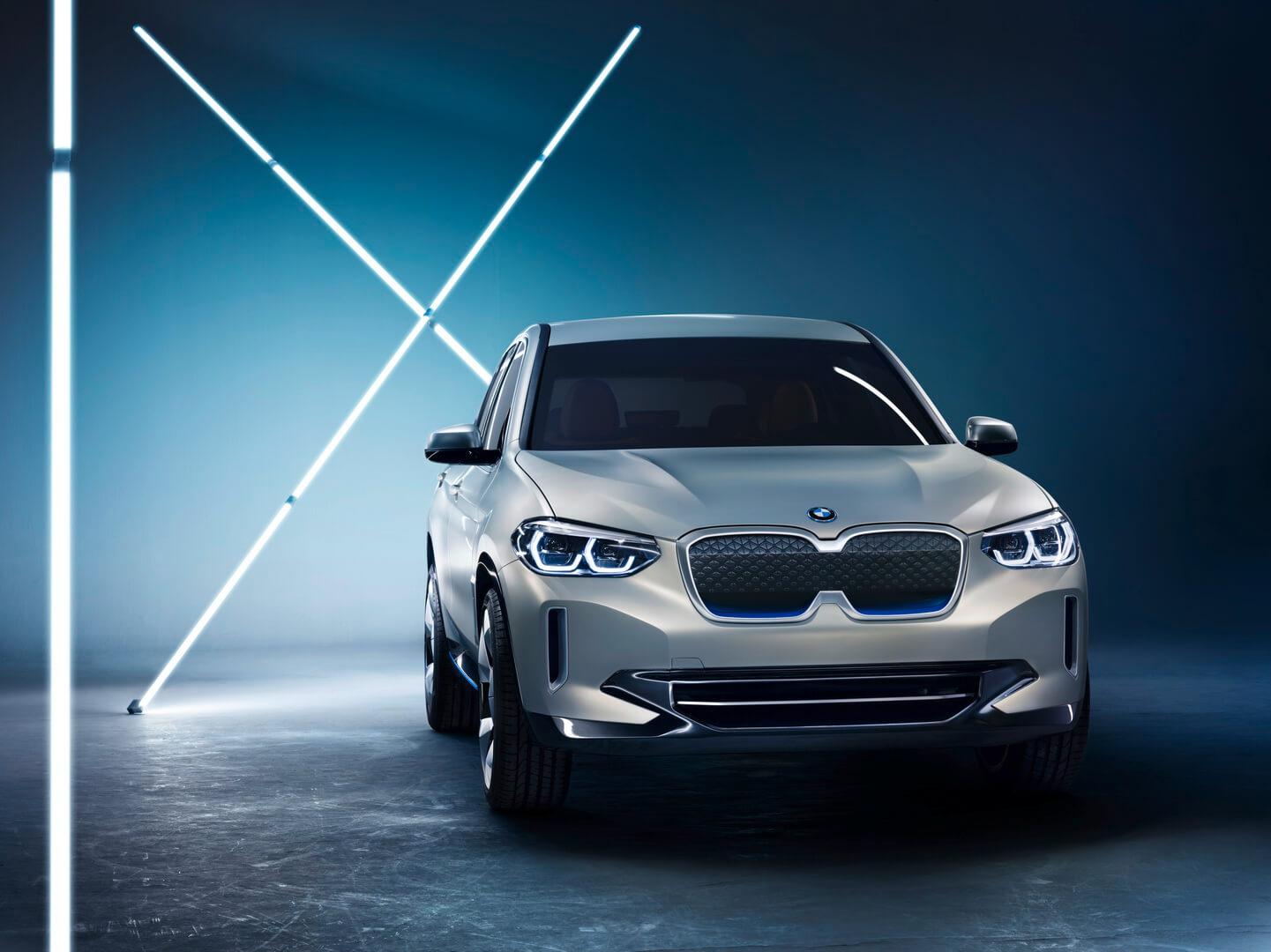 Концепт электрического кроссовера BMW iX3