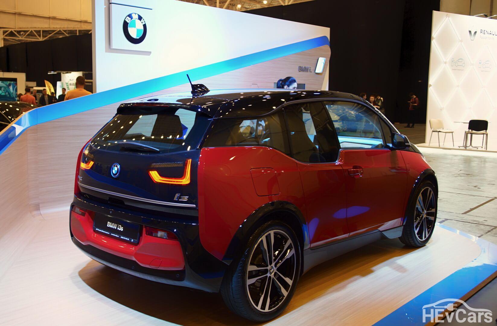 BMW i3s на выставке EcoDriveExpo 2018