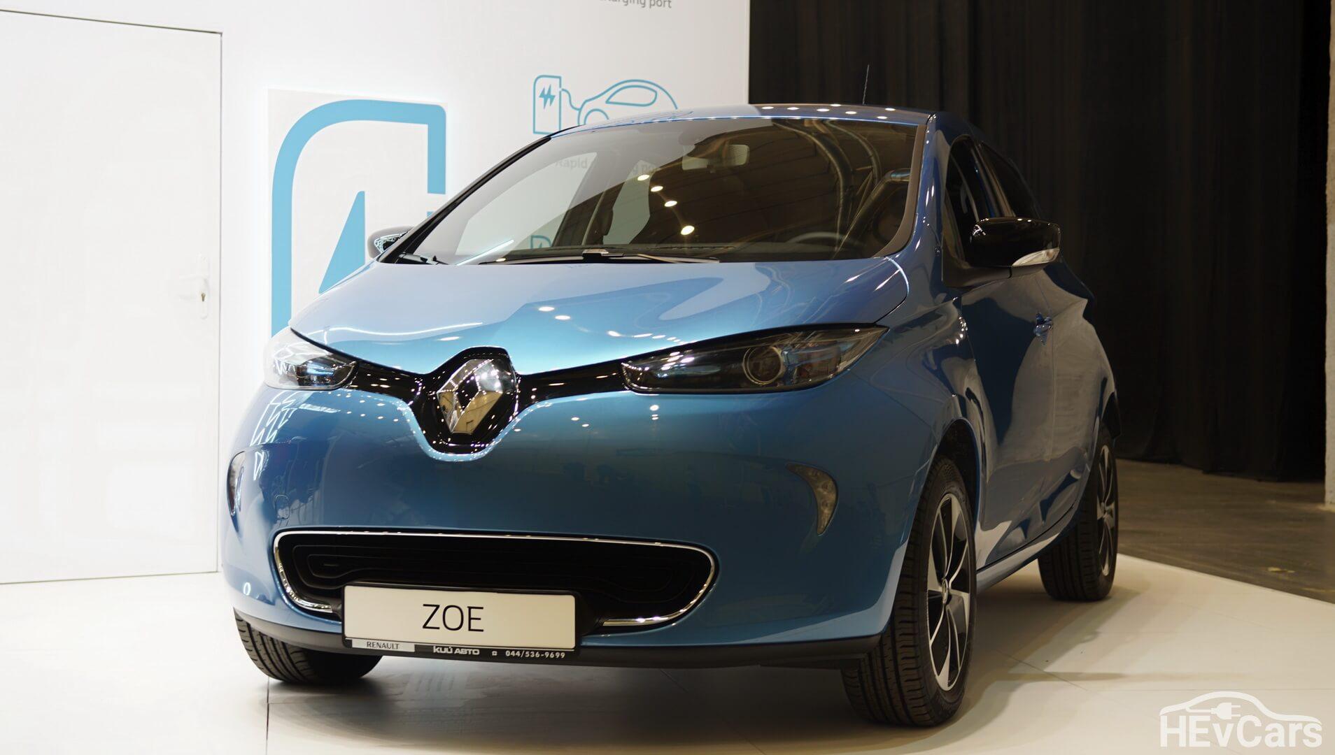 Renault ZOE на выставке EcoDriveExpo 2018
