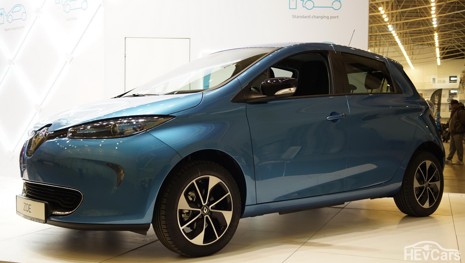 Самый популярный электромобиль во Франции Renault ZOE