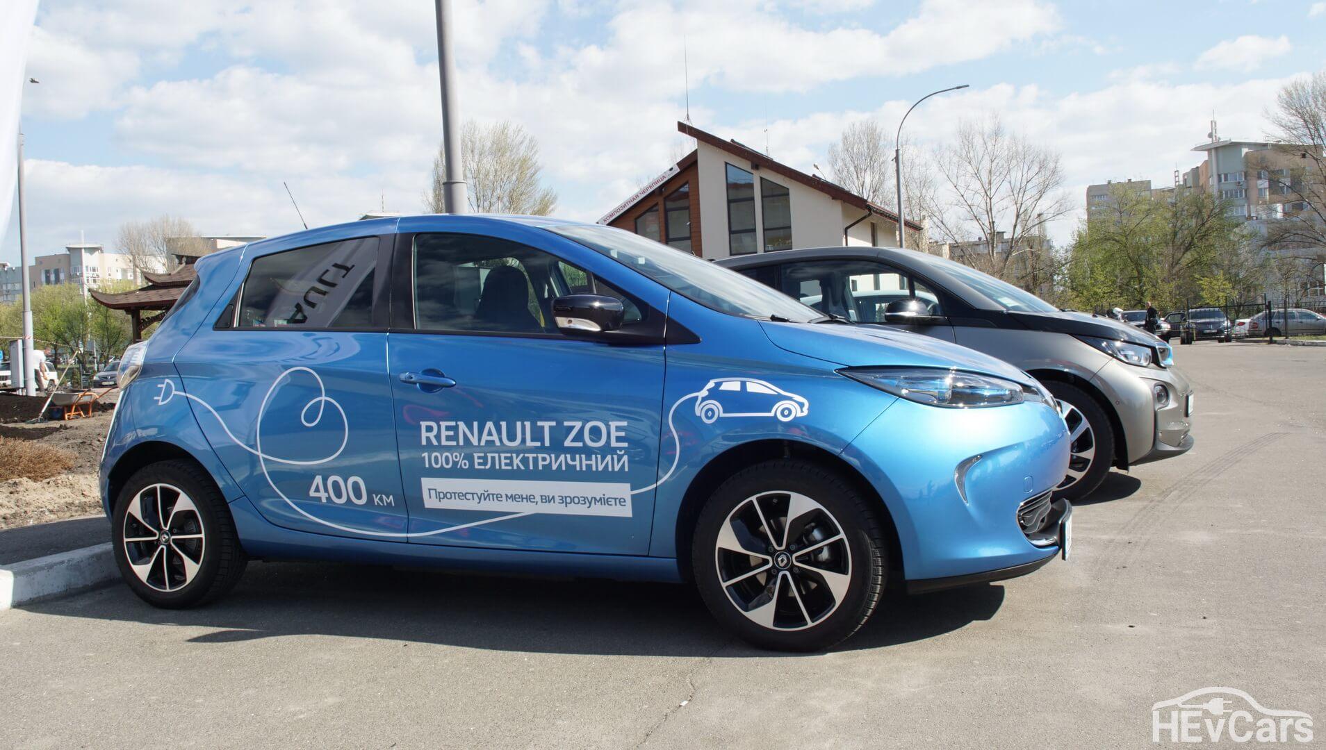 Тестовый электрический хэтчбек Renault ZOE