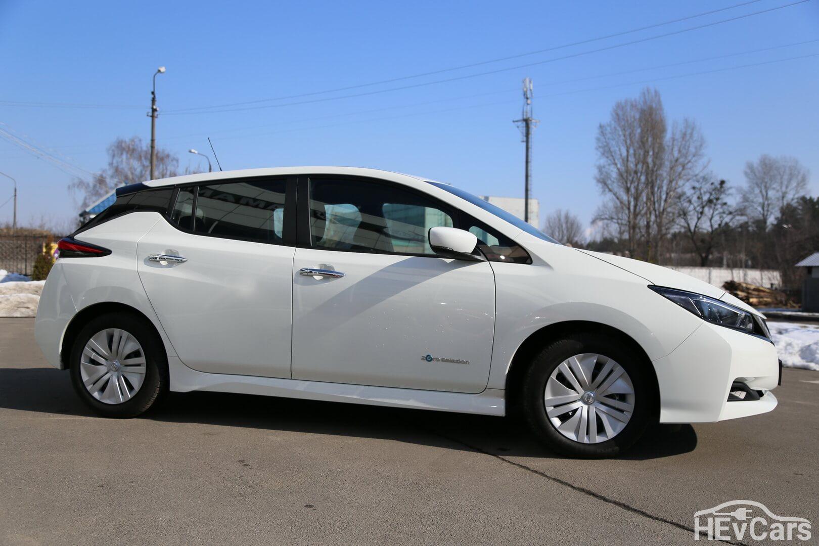 Nissan Leaf второго поколения с 40 кВт•ч батареей