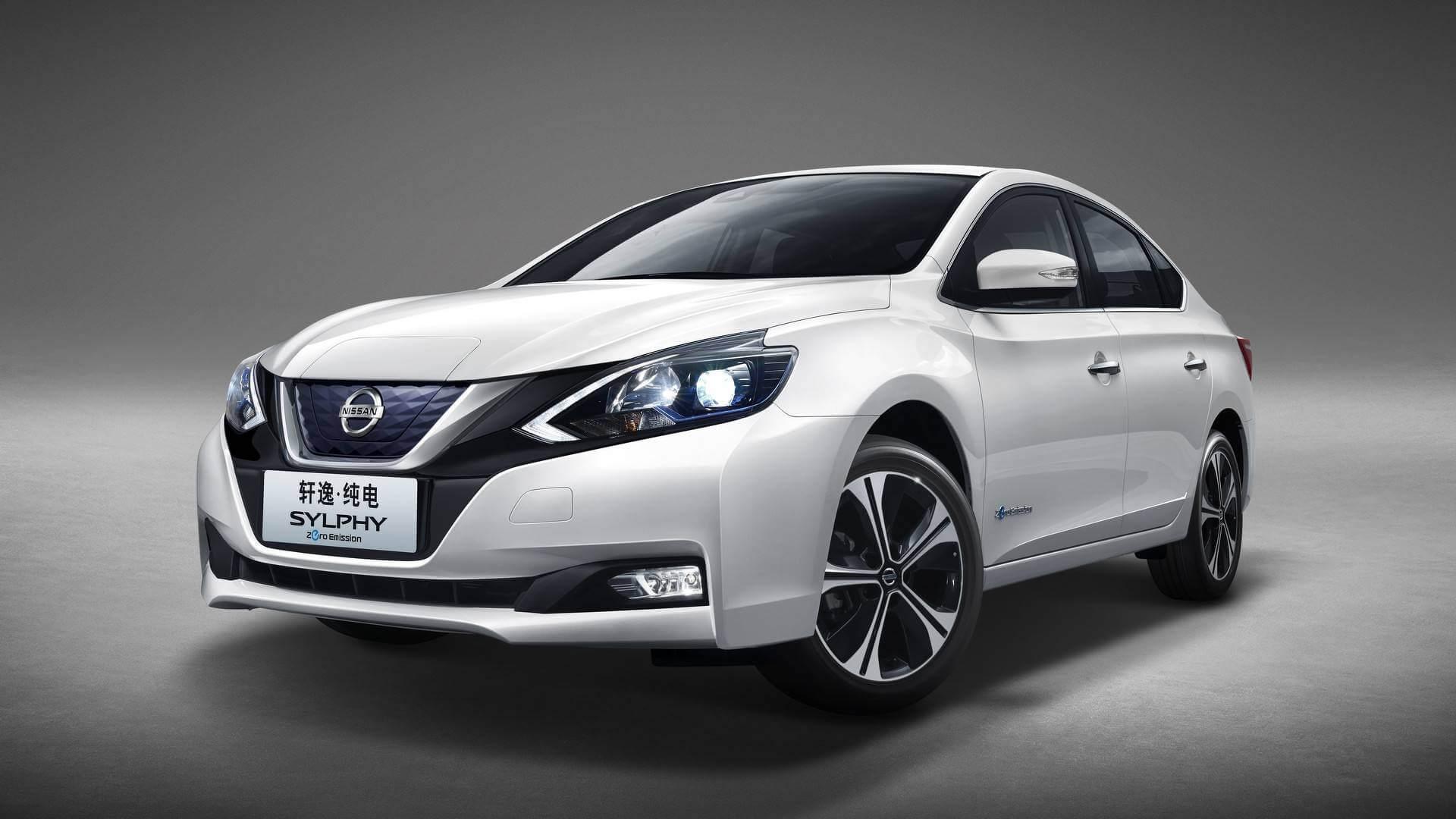 Электромобиль Nissan Sylphy Zero Emission