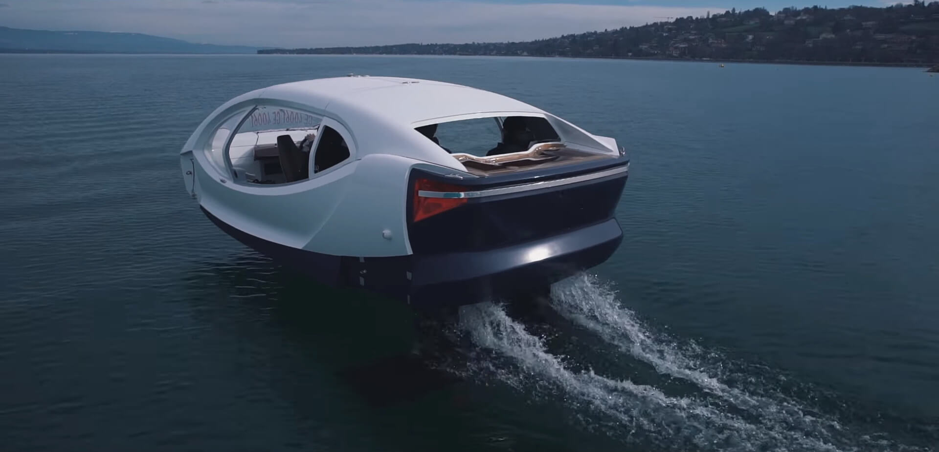 Электрическое водное такси SeaBubbles