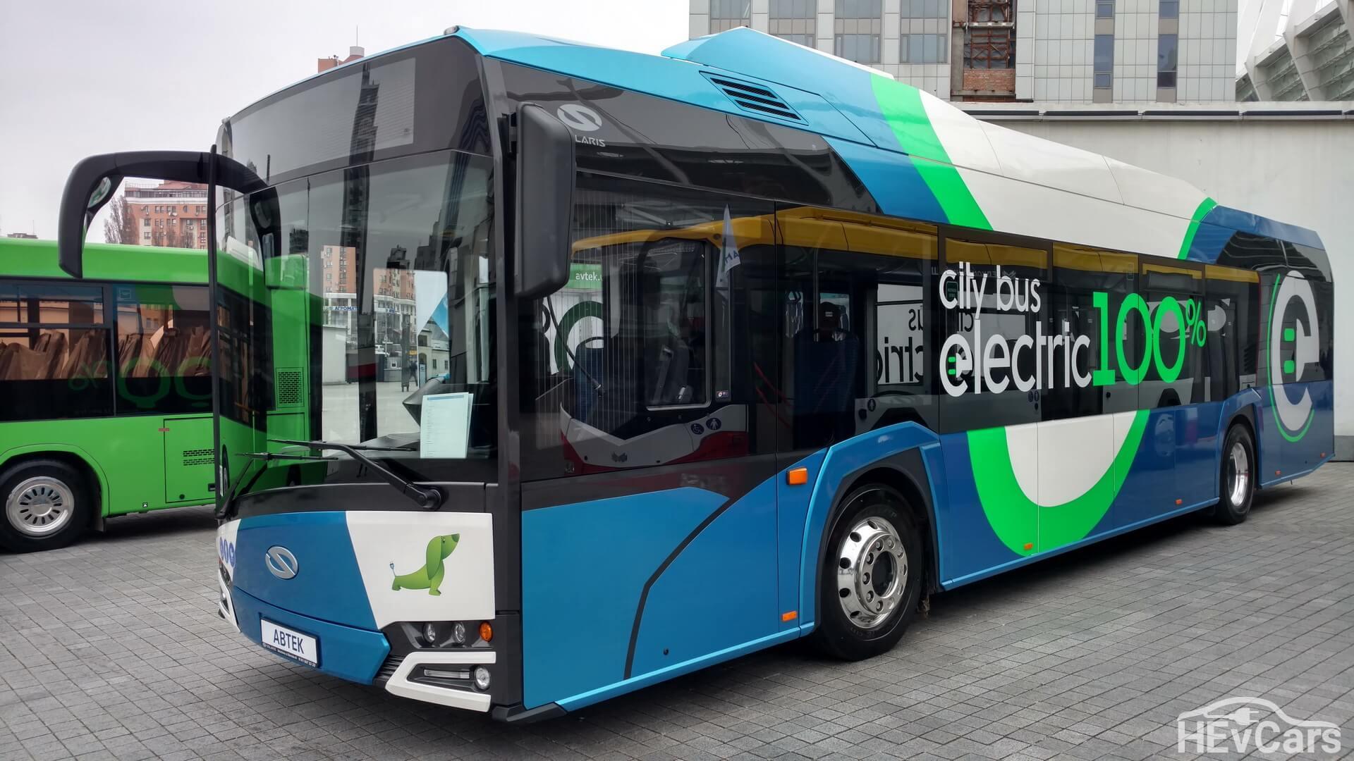 Электробус Solaris Urbino 12 Electric