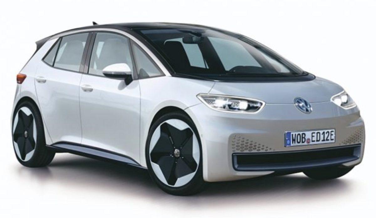 Электрический хэтчбек изсерии I.D.: Volkswagen I.D. Neo