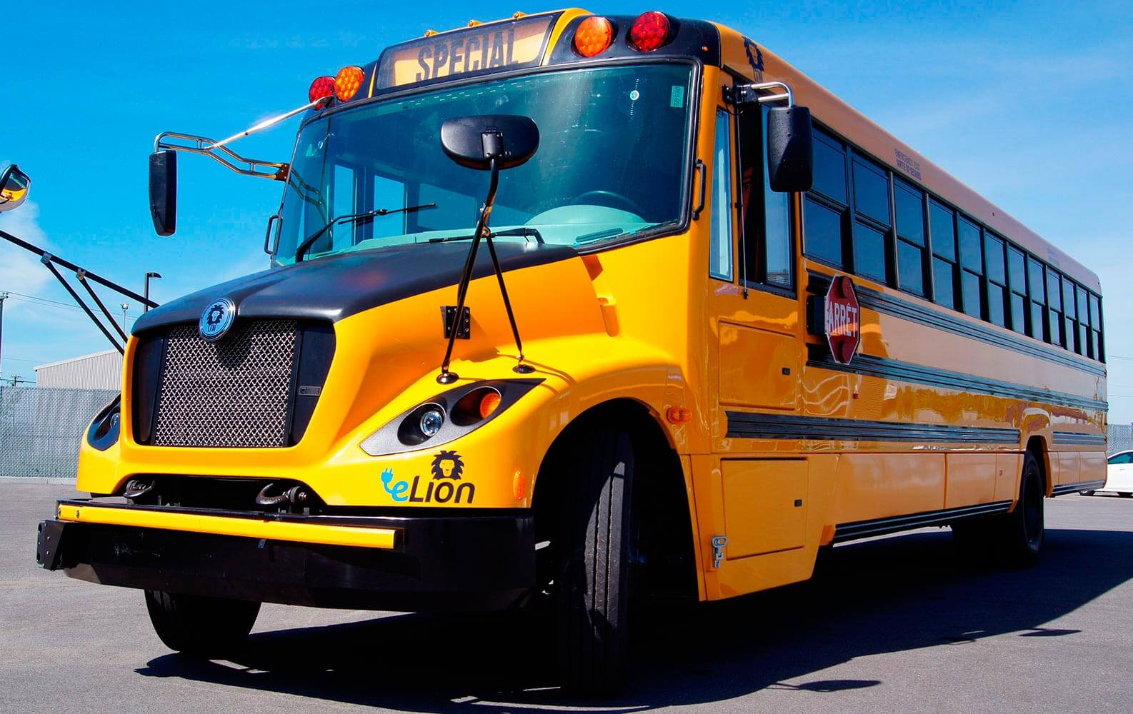 Электрический автобус eLion